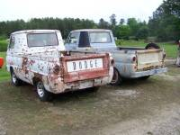 Two 1964 Dodge A100 Pickups