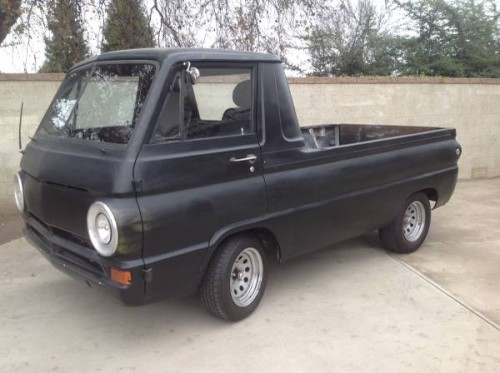 1965 dodge a100 pickup truck for sale in visalia california 10k. Black Bedroom Furniture Sets. Home Design Ideas