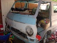 1966 Dodge A100 Van Project