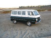 1967 Dodge A100 Custom Sportsman Van