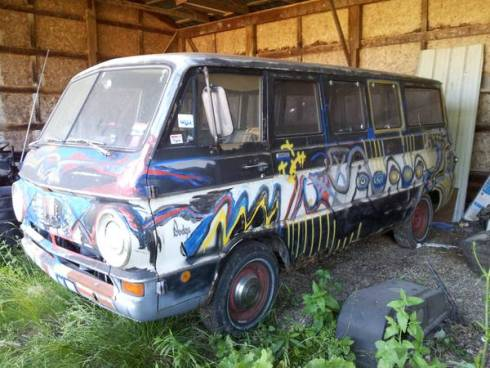 1968 Dodge A100 Van For Sale in Homerville, Ohio