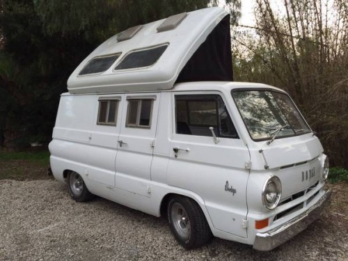 1965 Dodge A100 Campervan 318 5.2L For Sale in San Diego ...