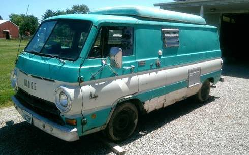 1969 Dodge A100 Townsman Panel Van For Sale In Columbus Ohio