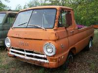 Two 1969 Dodge A100 Pickup and Parts