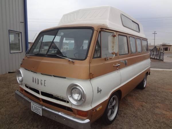 1970 Dodge A100 Camper RV Van For Sale In Oklahoma City