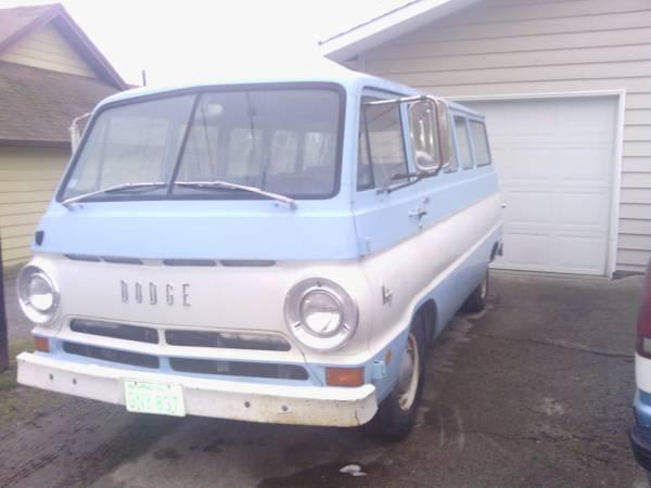 1968 Van Spokane WA