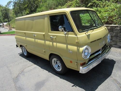 1968 dodge a100 van for sale in westlake village california 20k. Black Bedroom Furniture Sets. Home Design Ideas