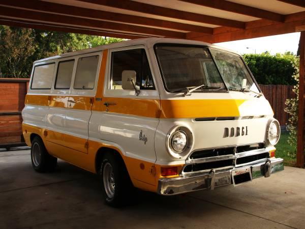 1969 dodge a100 van truck for sale in los angeles california 30k. Black Bedroom Furniture Sets. Home Design Ideas