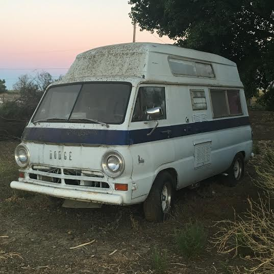 dodge a100 camper for sale in brentwood california make offer. Black Bedroom Furniture Sets. Home Design Ideas