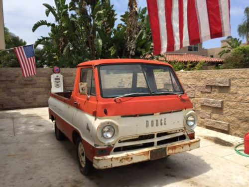 1966 Dodge A100 Pickup Truck For Sale In Carlsbad