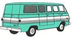 Dodge A100 Vision Van Curbside