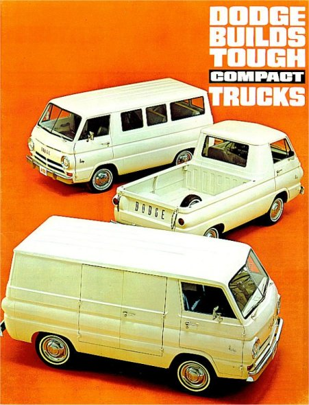 1965 Dodge A100 Brochure Cover