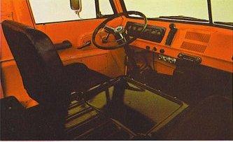 Compact Pickup Interior