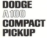 Dodge A100 Compact Pickup