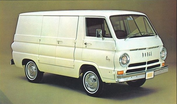 Dodge A100 Compact Van Brochure Cargo Panel Amp Custom